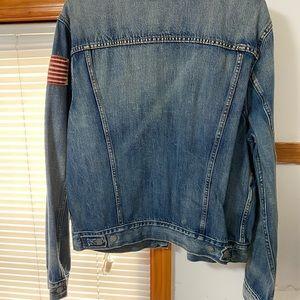 new polo denim jacket